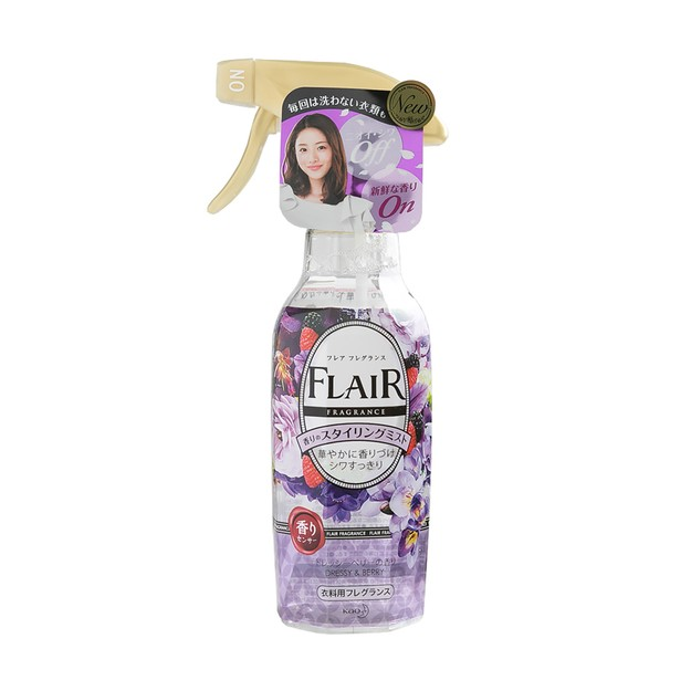 Product Detail - KAO FLAIR Fragrance Clothing Spray Dressy Berry 270ml - image 0