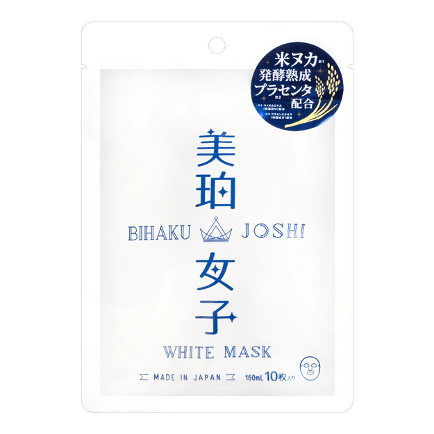 BIHAKU JOSHI mask 10sheets