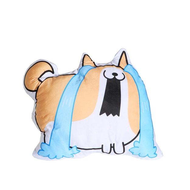 商品详情 - Petorama 双面表情靠垫抱枕 #柯基 - image  0