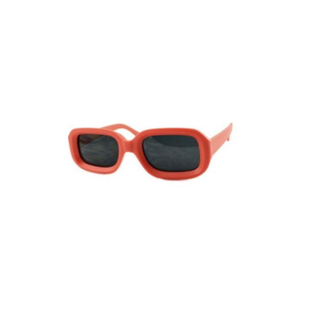 Product Detail - RETRO POP Fashion Sunglasses 7442 Red Frame/Grey Lens - image 0