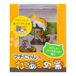 日本CARMATE快美特 療癒小貓汽车果冻芳香除臭剂 茉莉香味 80g