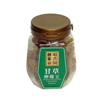 澳门咀香园 传统蜜饯润喉美颜甘草柠檬王 140g