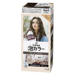 日本KAO花王 LIESE PRETTIA 泡沫染发剂 #烟熏棕