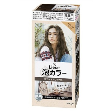 KAO LIESE PRETTIA Bubble Hair Dye #Smoky Brown