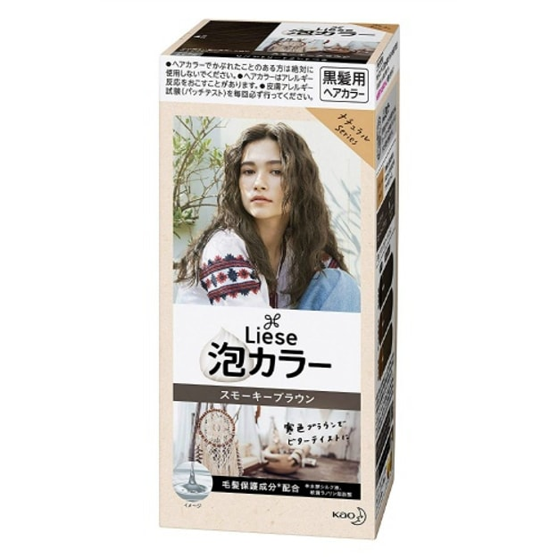Product Detail - KAO LIESE PRETTIA Bubble Hair Dye #Smoky Brown - image 0