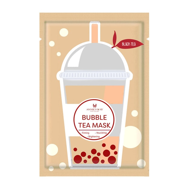 Product Detail - ANNIE\'S WAY Black Tea Bubble Tea Mask 1 Sheet - image 0