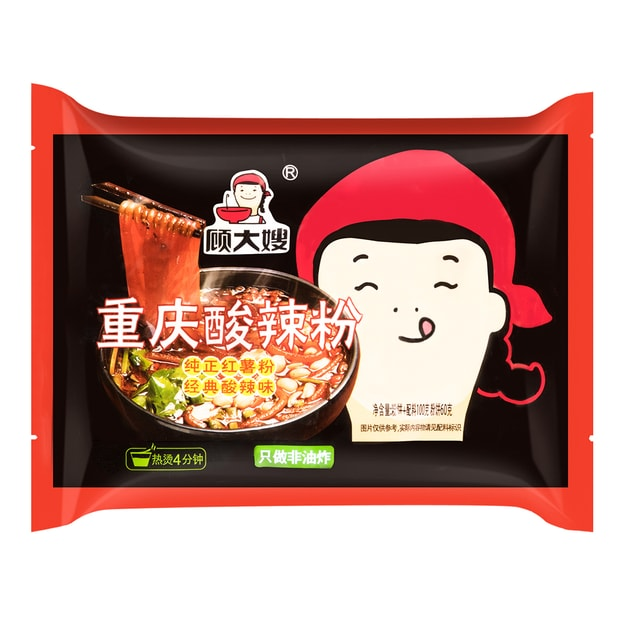 Product Detail - GUDASAO Chongqing instant noodles Sour Spicy Flavor 100g - image 0