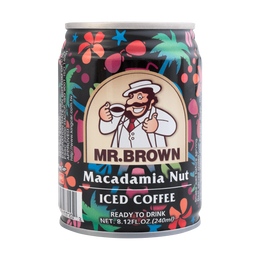 MR BROWN Coffee Macadamia Nut Flavor 240ml