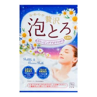 日本COW牛乳石鹸共进社 胶原美肌浓密泡泡入浴剂 #洋甘菊香 30g