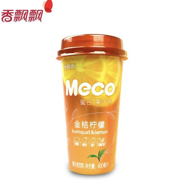 商品详情 - 香飘飘 MECO 蜜谷果汁茶 金桔柠檬味 400m - image  0