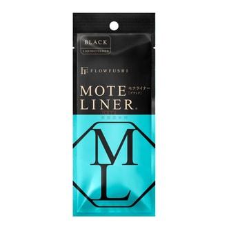 日本FLOWFUSHI MOTE LINER 防水极细眼线液笔 #黑色 0.55ml COSME大赏第一位 熊野职人大和匠