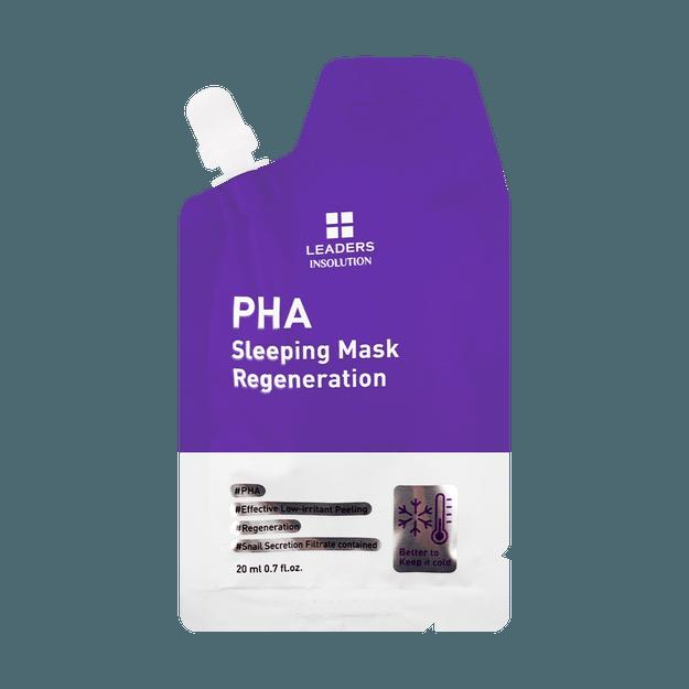 Product Detail - LEADERS INSOLUTION PHA Sleeping Mask Regeneration 20ml - image 0