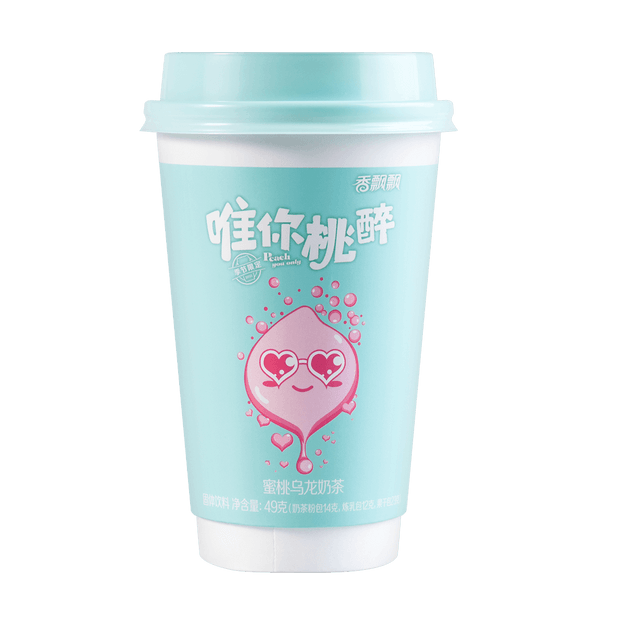 Product Detail - XIANGPIAOPIAO Peach Oolong Milk Tea 49g (Expiration Date 12/19) - image 0