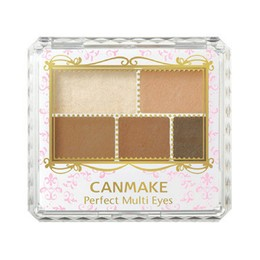 CANMAKE Perfect Multi Eyes Shadow Palette 02 Urban Caramel 1pc