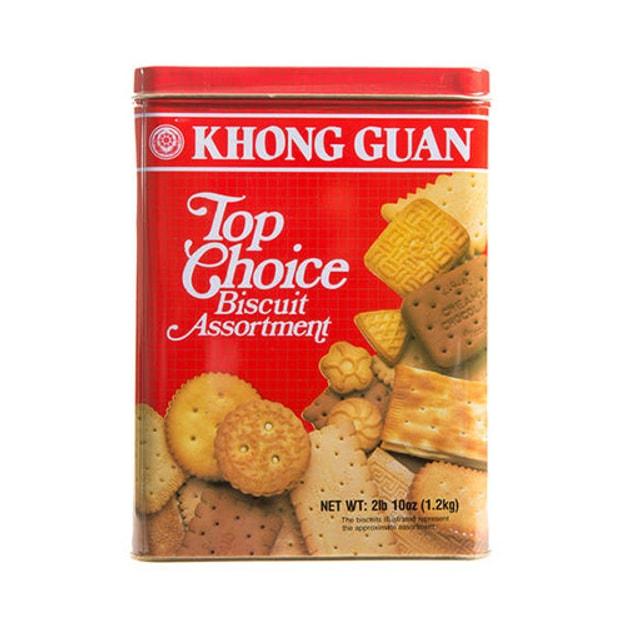 商品详情 - 新加坡KHONG GUAN康元 首选综合饼干 铁盒装 1190g - image  0