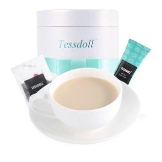台湾TESSDOLL 网红健康奶茶 养身精选茶叶 无反式脂肪酸及香精 礼盒装 12份装
