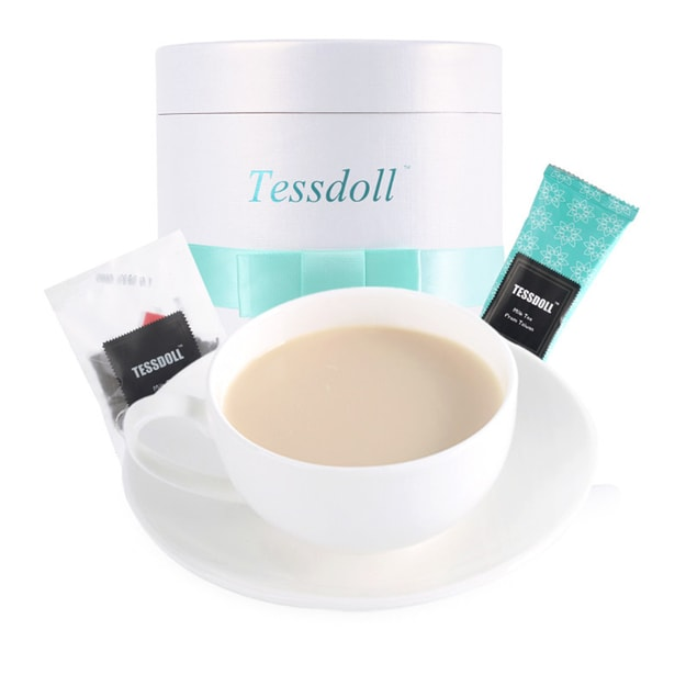 Product Detail - Tessdoll Premium Natural Healthy Milk Tea with Black Tea Leaf 12/ Gift Box - image 0