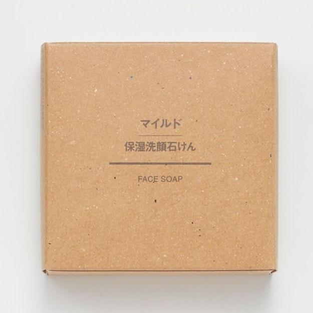 商品详情 - 【日本直邮】MUJI 无印良品 温和保湿洁面香皂 80g - image  0