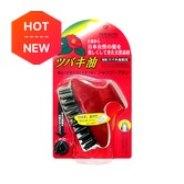 IKEMOTO Tsubaki Oil Shampoo Brush TSU-70 Red