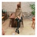 韩国正品 MAGZERO 不对成设计披风外套 #米黄色 均码(Free) [免费配送]