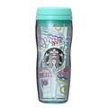 日本直邮】星巴克2019夏季限定 TIFFANY蓝星冰乐图案 树脂随行杯 355ml