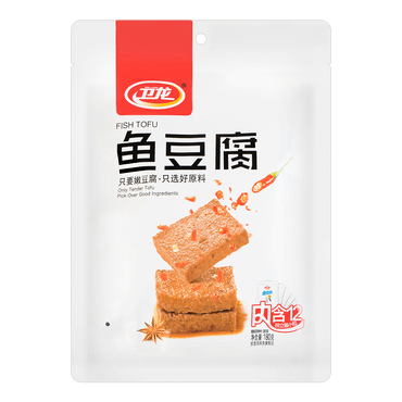 WEILONG Fish Tofu Snack 180g