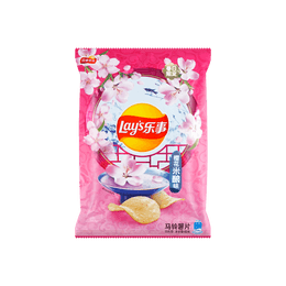 Lay's Potato Chips Cherry Blossom Rice Wine Flavor 60g
