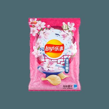 【非凡新口味】乐事 薯片 樱花米酿味 60g