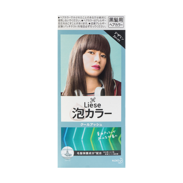 KAO LIESE PRETTIA Bubble Hair Dye #Cool Ash @Cosme Award No.1