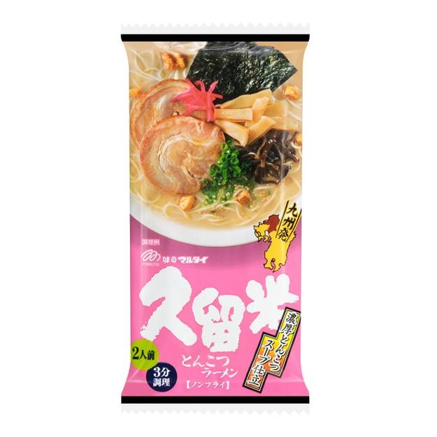商品详情 - 【日本直邮】MARUTAI 久留米香葱豚骨拉面 2人份 194g - image  0