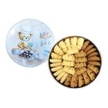 [台湾直邮]香港小熊饼干 四味珍妮曲奇(牛油花 咖啡花 脆牛油 葡萄燕麦) 320g