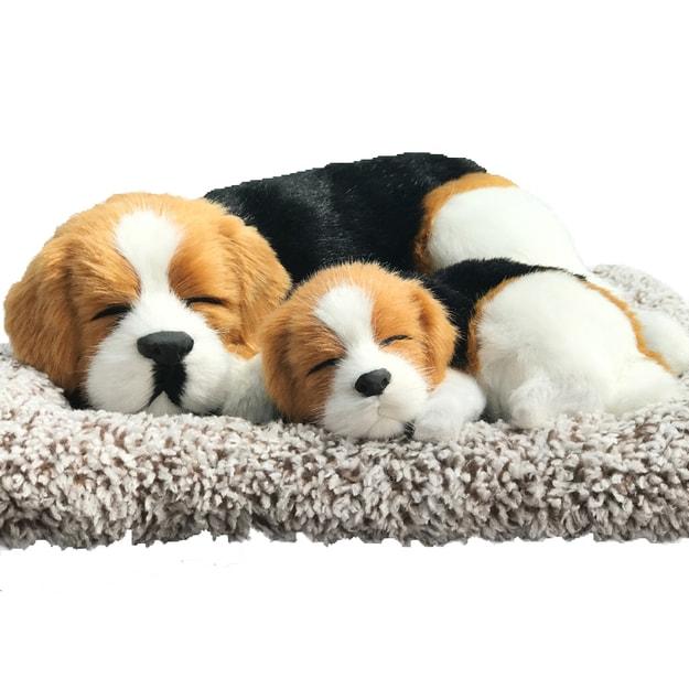 Product Detail - RAMBLE Car Ornament Simulation Sleeping Dog Air Fresher Bamboo Charcoal Bag Activated Carbon Beagle Sleep 1 pcs - image 0