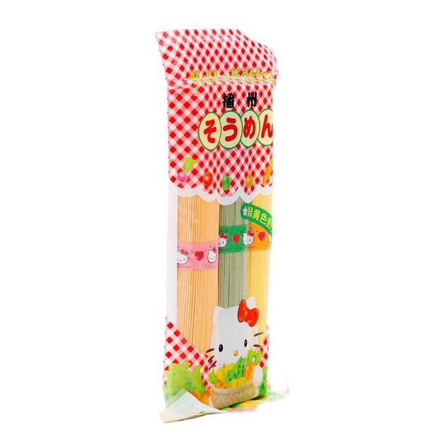 Product Detail - KANESU Hello Kitty Baby Noodle with Vegitable From 7month 300g - image 0