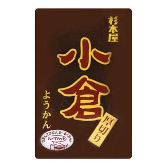 日本杉本屋 小仓厚切羊羹 红豆味 150g