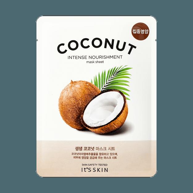 Product Detail - IT\'S SKIN Vitality&Moisture Coconut Mask 1pc - image 0
