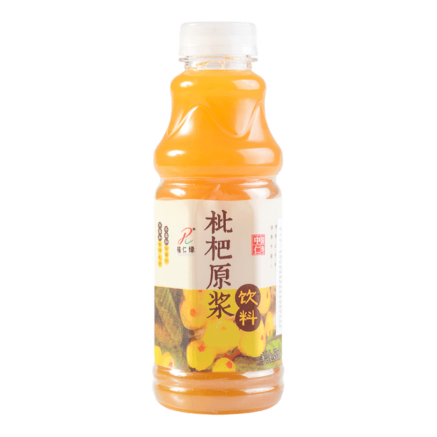 FURENYUAN Loquat Drink (Made of Original Loquat Juice) 450ml
