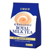 日本NITTOH日东红茶 ROYAL MILK TEA 红茶速溶奶茶粉 冷热皆饮 10包入