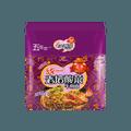 台湾统一 满意100 老坛酸菜牛肉面 五包入 595g