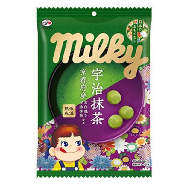 商品详情 - DHL直发【日本直邮】日本FUJIYA不二家 抹茶果汁奶糖 80g - image  0