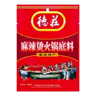 德庄 麻辣烫火锅底料 300g 重庆特产