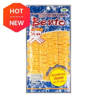 泰国BENTO 秘制湿鱿鱼干 蒜香原味 20g