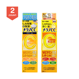 ROHTO Melano CC Medicinal Stains Measures Serum+Moisturizing Cream
