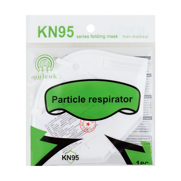Product Detail - 【KN95】OULEOK KN95 Disposable Surgical Medical Face Mask 1piece Anti-bacterial≥95% - image 0