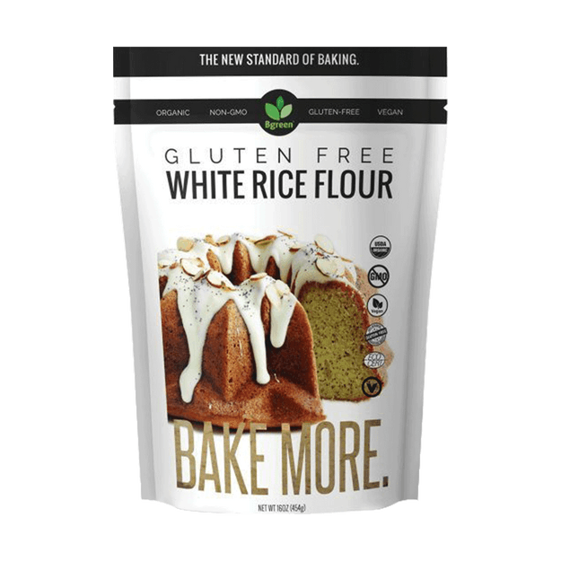 Product Detail - BIG GREEN Organic White Rice Flour 454g - image 0
