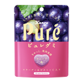 【日本直邮】KANRO PURE果肉果汁咀嚼弹力软糖 紫葡萄味 56g