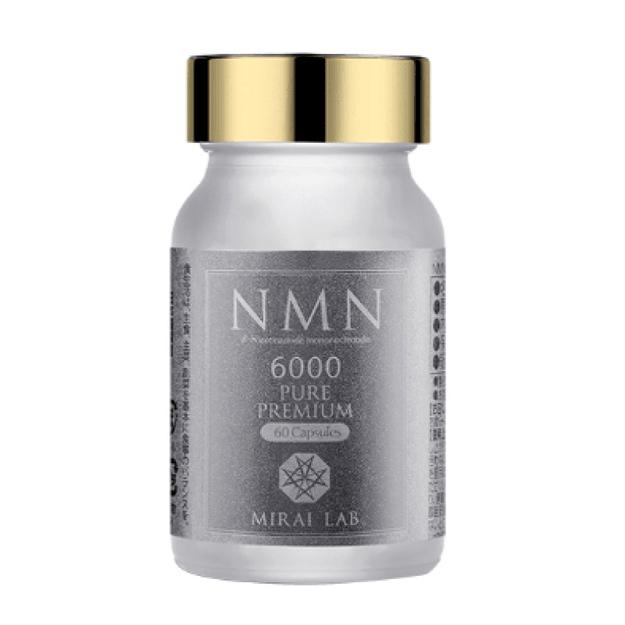 商品详情 - 【日本直邮】兴和制药 MIRAI LAB NMN6000 高纯度抗衰老 逆龄丸 - image  0