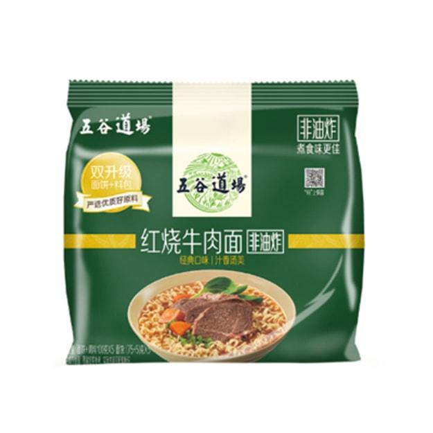 商品详情 - 五谷道场 红烧牛肉面500g (5包装) - image  0