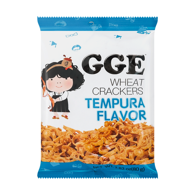 Product Detail - WEILIH GOOD GOOD EAT Tempura Wheat Cracker 80g (Random Delivery of 2 Packaging) - image 0