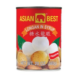 ASIAN BEST Longan In Syrup (XL) 565g