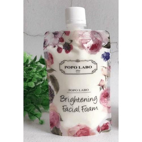 POPO LABO Brightening Facial Foam 120g